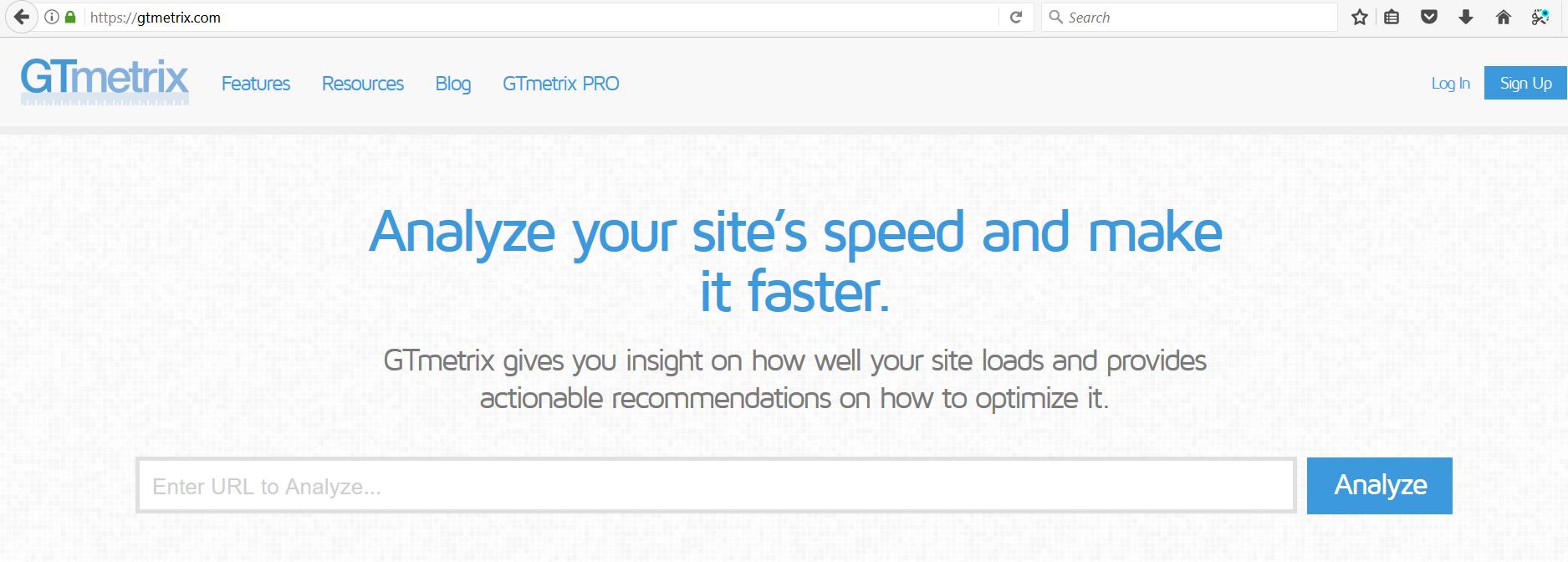 ابزار سنجش سرعت سایت در سئو