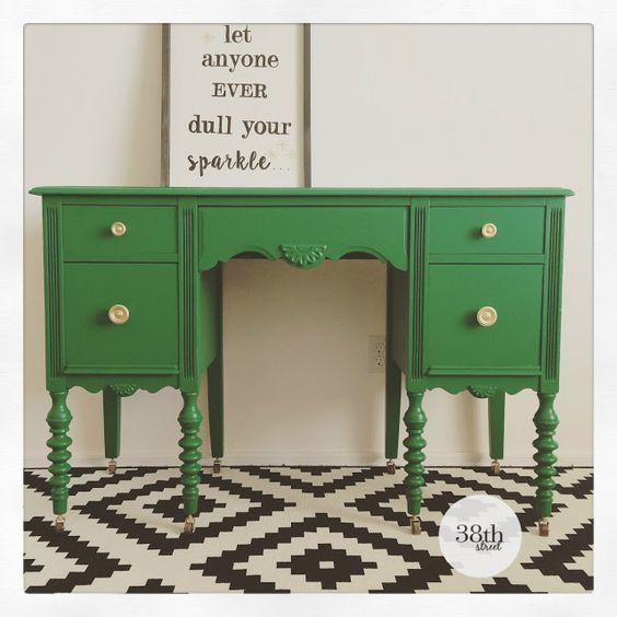 میز کار سبز