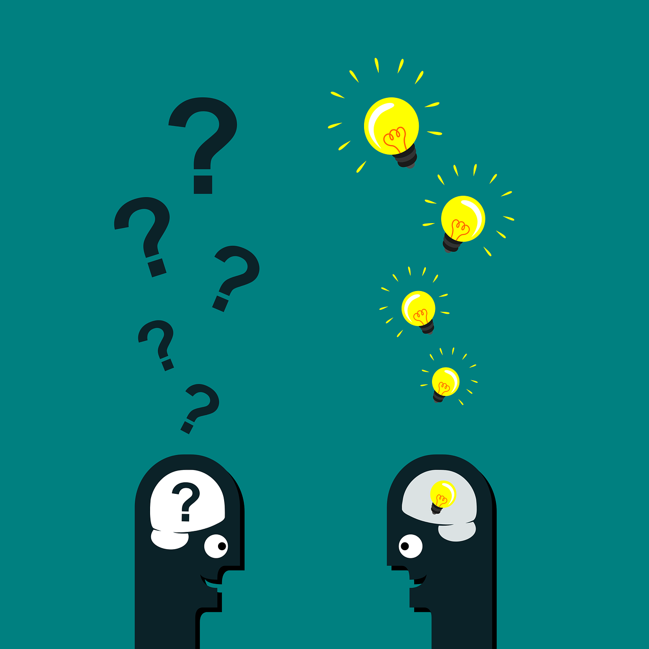 پاسخ به سوال های مخاطب در توضیح محصول