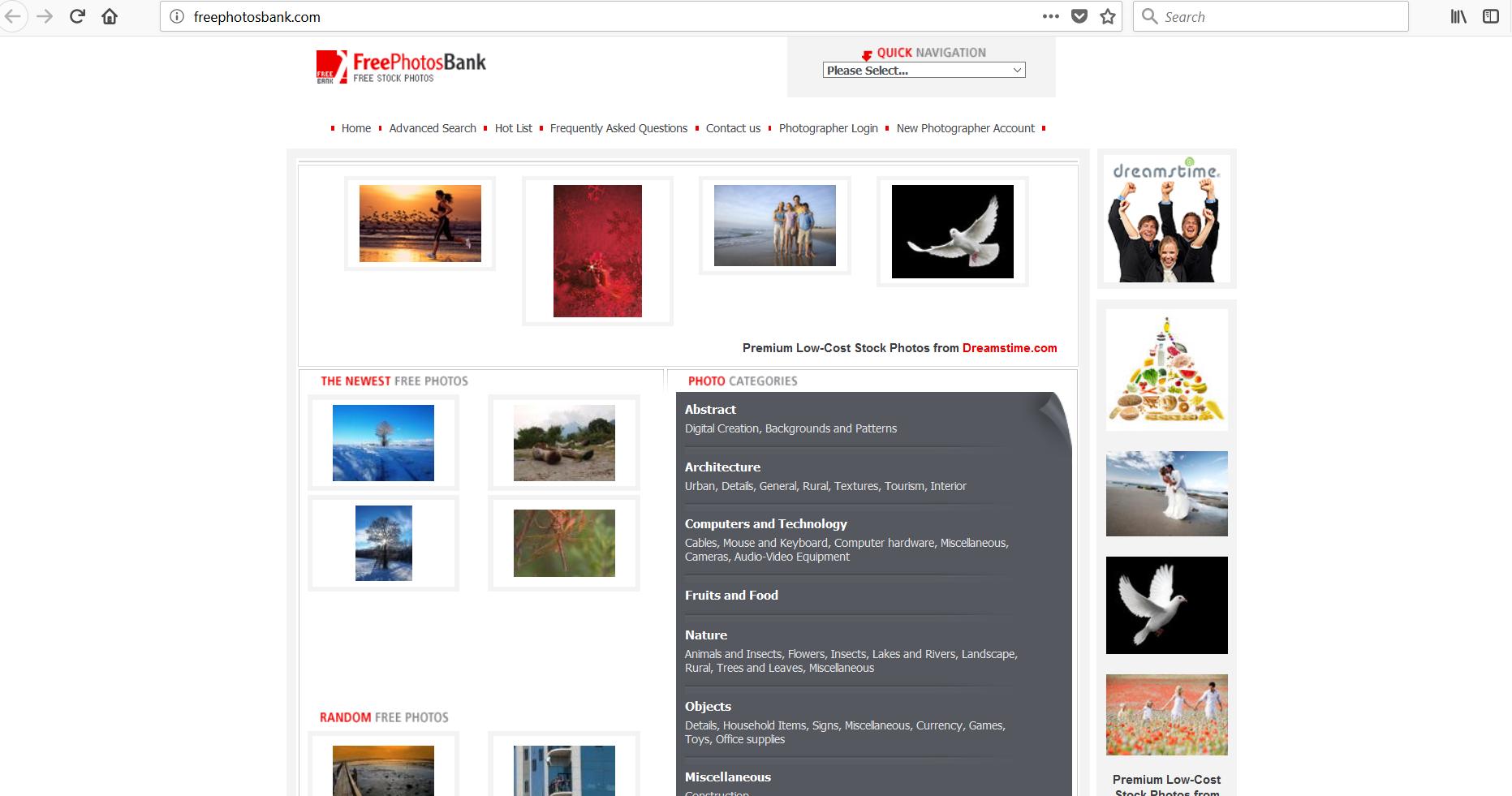 سایت دانلود عکس در تولید محتوا