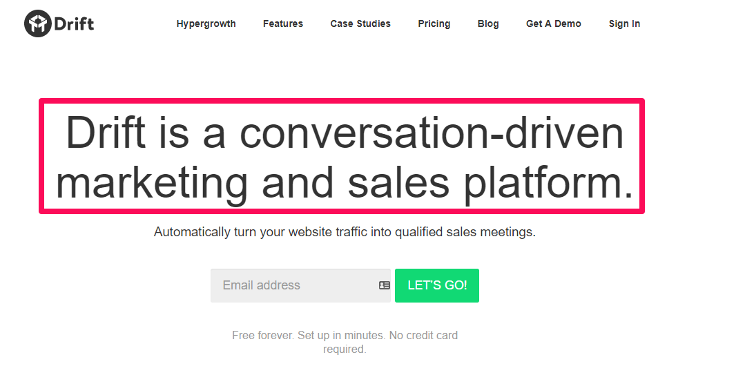 نمونه سایت برای افزایش نرخ تبدیل صفحه اصلی سایت