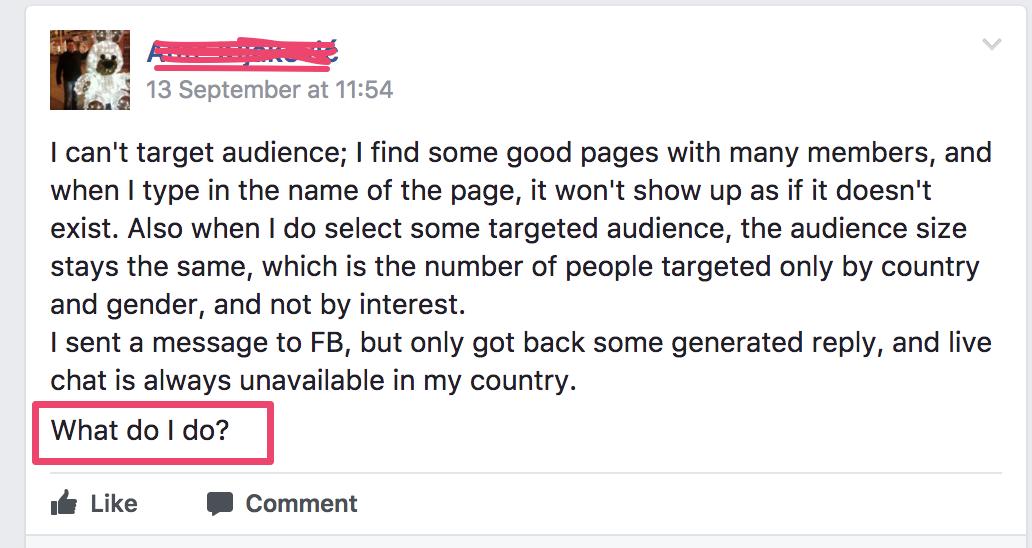 پیدا کردن سوالات در فیس بوک برای بازاریابی محتواپیدا کردن سوالات در فیس بوک برای بازاریابی محتوا