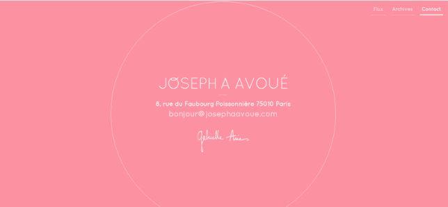 Joseph A Avoue/contact
