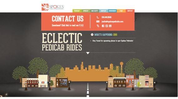 spokes pedicabs/contact